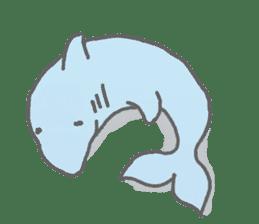Honobono dolphin sticker #4803180
