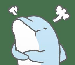 Honobono dolphin sticker #4803181