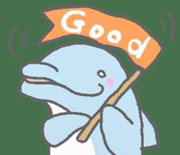 Honobono dolphin sticker #4803193