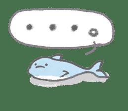 Honobono dolphin sticker #4803194