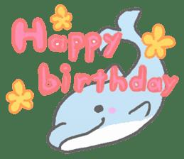 Honobono dolphin sticker #4803199