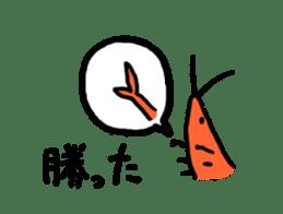 I'll give shrimp sticker #4803623