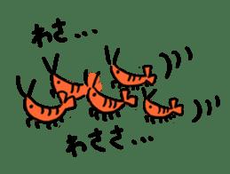 I'll give shrimp sticker #4803625
