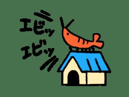 I'll give shrimp sticker #4803632