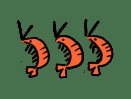I'll give shrimp sticker #4803635