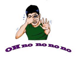 VERY CUTE THAI BOY (international) sticker #4805098