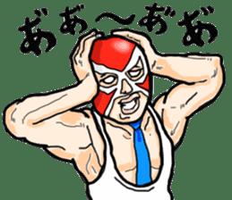 Mask The Hero sticker #4806641