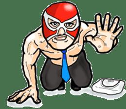 Mask The Hero sticker #4806642