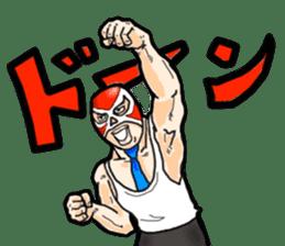 Mask The Hero sticker #4806643