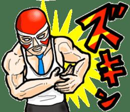 Mask The Hero sticker #4806645