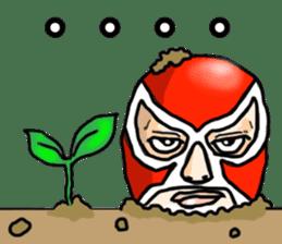Mask The Hero sticker #4806647