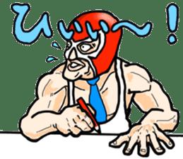 Mask The Hero sticker #4806648