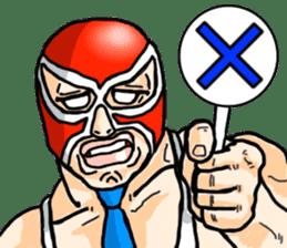 Mask The Hero sticker #4806654