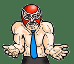Mask The Hero sticker #4806655