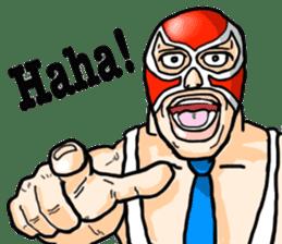 Mask The Hero sticker #4806657