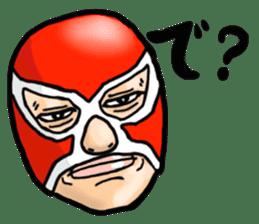Mask The Hero sticker #4806660