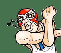 Mask The Hero sticker #4806662