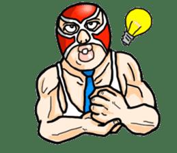 Mask The Hero sticker #4806666