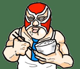 Mask The Hero sticker #4806668