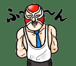 Mask The Hero sticker #4806670
