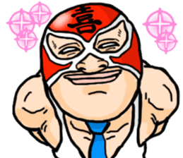 Mask The Hero sticker #4806672