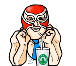 Mask The Hero sticker #4806676