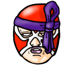 Mask The Hero sticker #4806677
