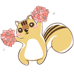 Every day, chipmunk!~Follow your heart