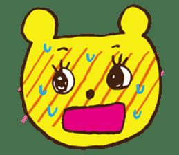 Blush  Bear sticker #4812560