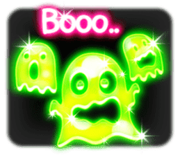 Glowing Stickers (Best With Black Theme) sticker #4812760