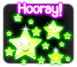 Glowing Stickers (Best With Black Theme) sticker #4812763