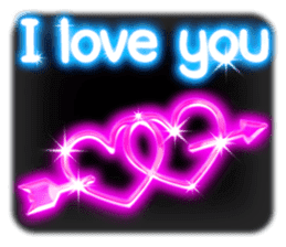 Glowing Stickers (Best With Black Theme) sticker #4812768