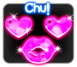 Glowing Stickers (Best With Black Theme) sticker #4812770