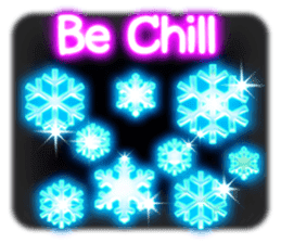 Glowing Stickers (Best With Black Theme) sticker #4812776