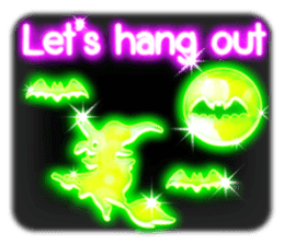 Glowing Stickers (Best With Black Theme) sticker #4812780