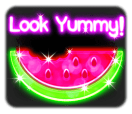 Glowing Stickers (Best With Black Theme) sticker #4812781