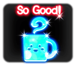 Glowing Stickers (Best With Black Theme) sticker #4812789
