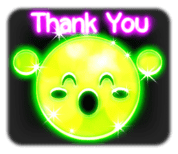 Glowing Stickers (Best With Black Theme) sticker #4812790