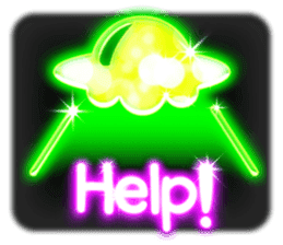 Glowing Stickers (Best With Black Theme) sticker #4812792