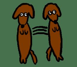 "Silly dog ""F"" sticker #4816921"