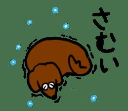 "Silly dog ""F"" sticker #4816937"