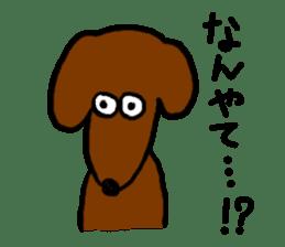 "Silly dog ""F"" sticker #4816940"