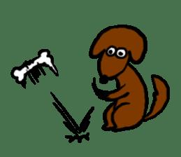 "Silly dog ""F"" sticker #4816951"