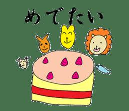 Chivalrous Giraffe -Zieff- sticker #4817436