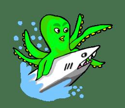 Water Friend Revenge sticker #4818046