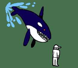 Water Friend Revenge sticker #4818060
