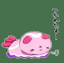 sea slug sticker #4818091