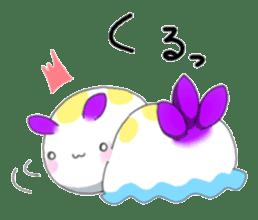 sea slug sticker #4818106