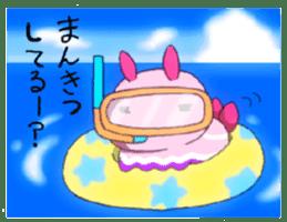 sea slug sticker #4818116