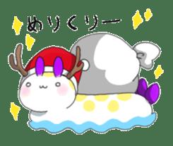 sea slug sticker #4818118